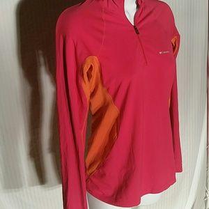 Columbia Pink and Orange Top. SP